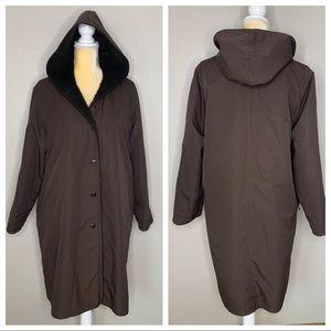 MaxMara Chocolate Rainwear Alpaca Lining 8